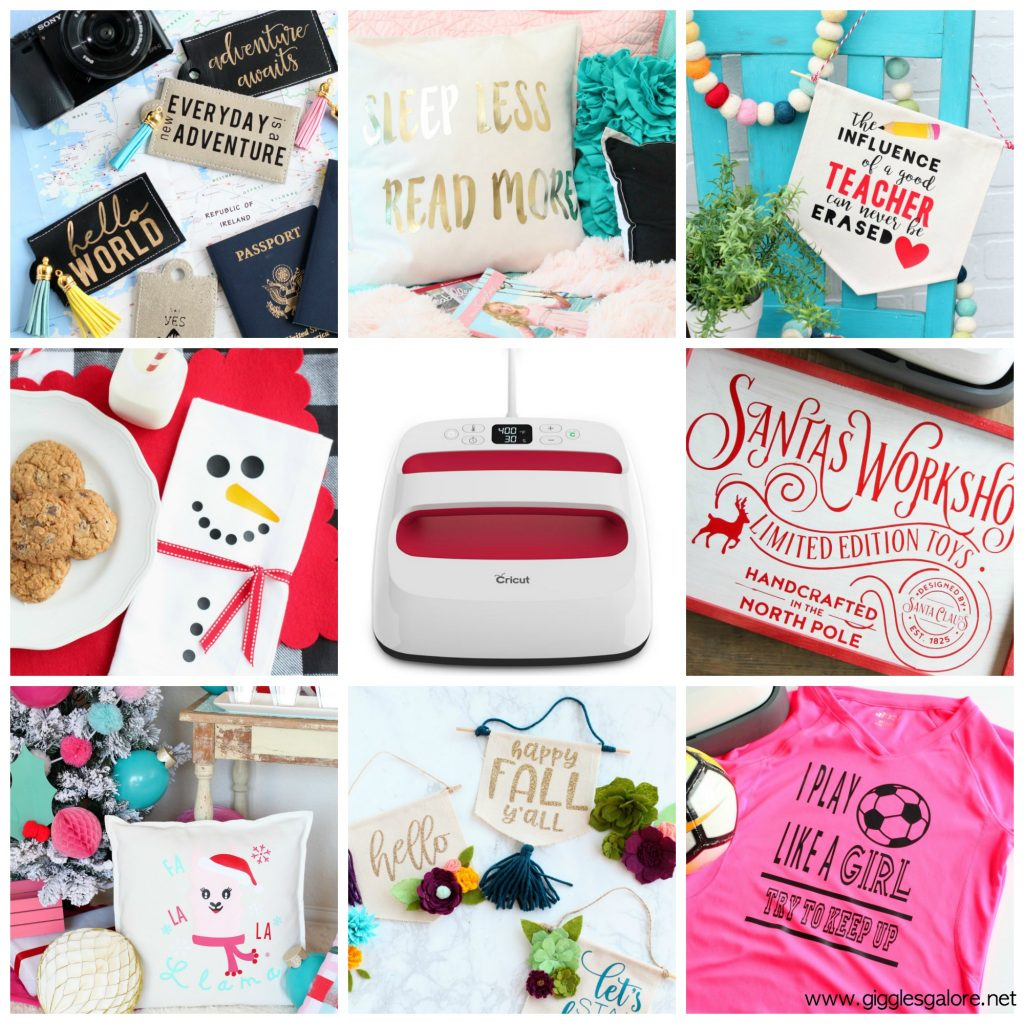 Cricut easypress 2 projects