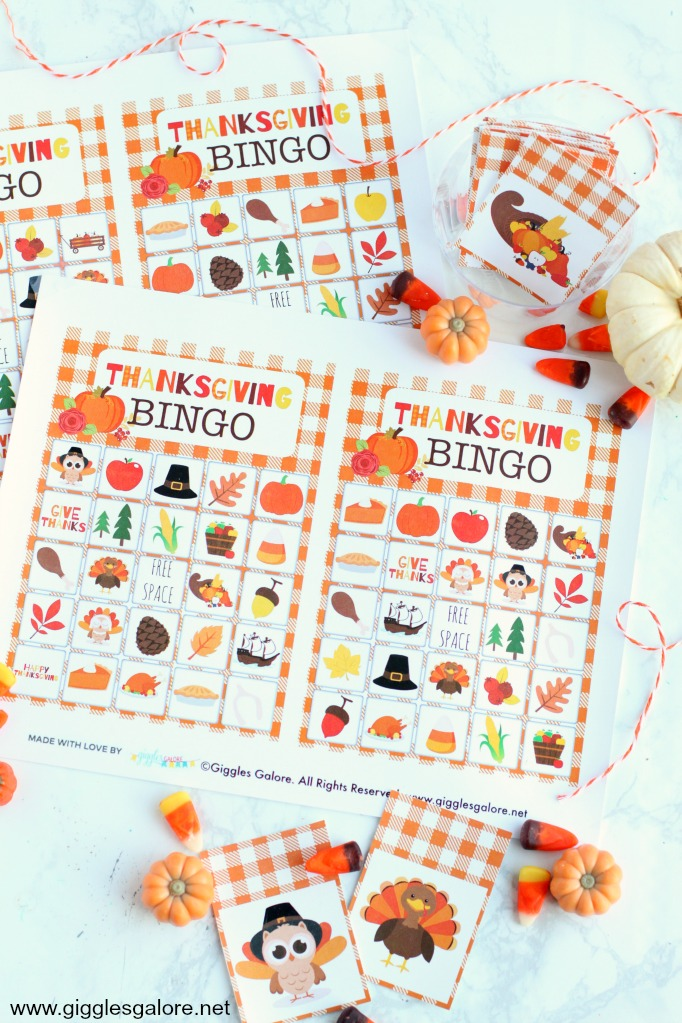 photograph regarding Thanksgiving Bingo Printable identify Totally free Thanksgiving Bingo Printable - Giggles Galore