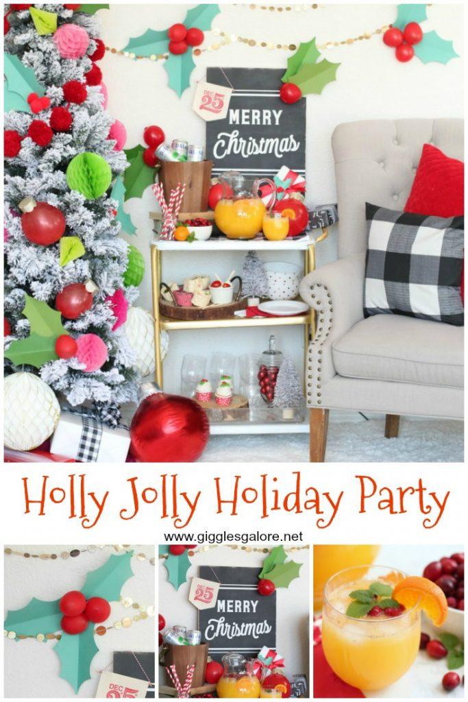 Holly jolly holiday party ideas