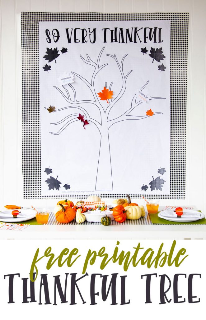 Thankful tree craft hero