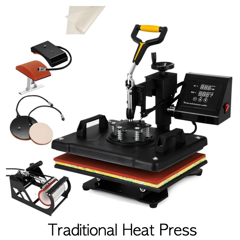 Traditional heat press review