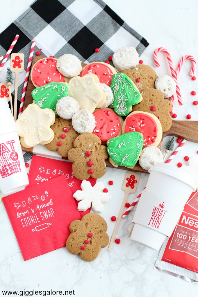 How To Host A Holiday Cookie Exchange Party Giggles Galore