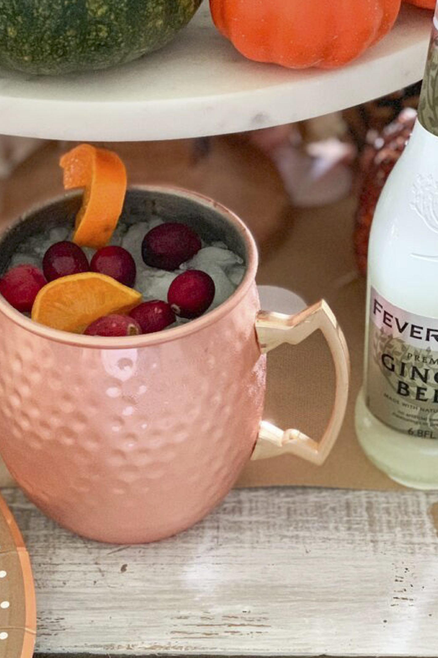 Everyday party magazine holiday moscow mule recipe copy