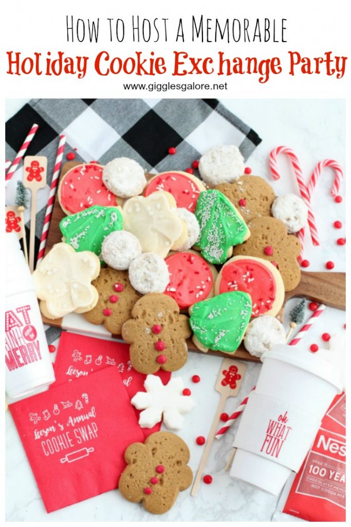 How to host a holiday cookie exchange party