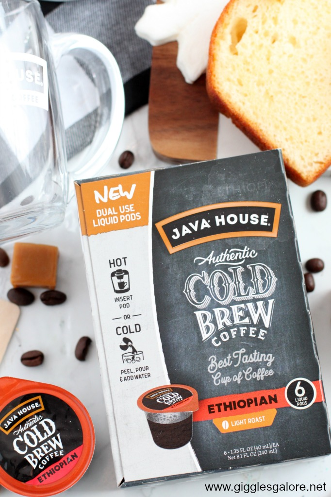 Java house cold brew liquid pods