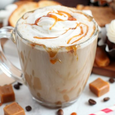 Hot Salted Caramel Coffee