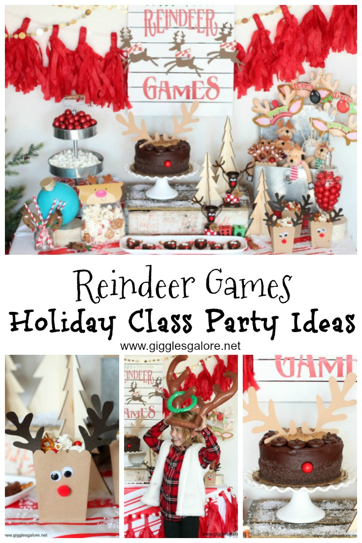 Reindeer games holiday class party ideas gg 1