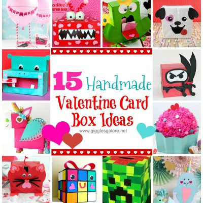 15 Handmade Valentine Box Ideas for School