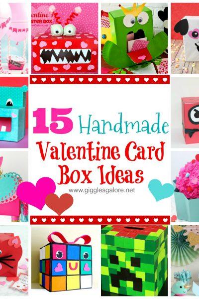 15 handmade valentine card box ideas 1