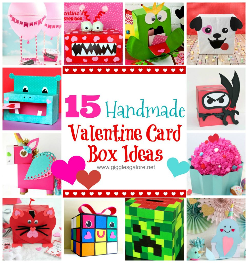 15 handmade valentine card box ideas 1