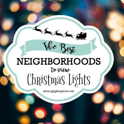 Best Neighborhoods to View Christmas Lights in DFW