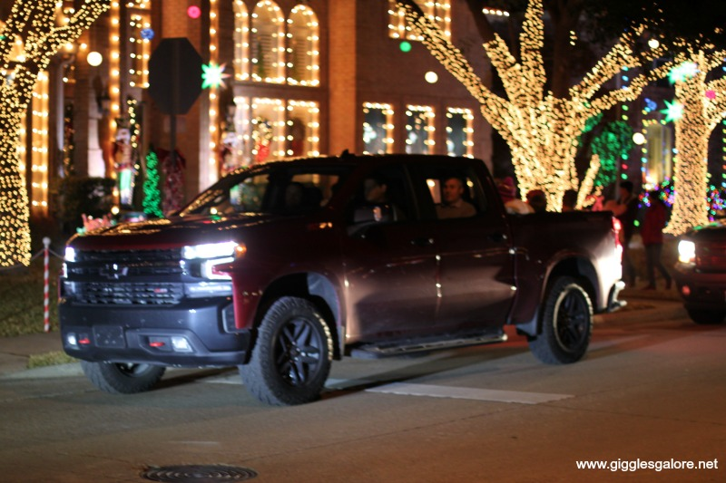 Christmas lights tour with chevy silverado