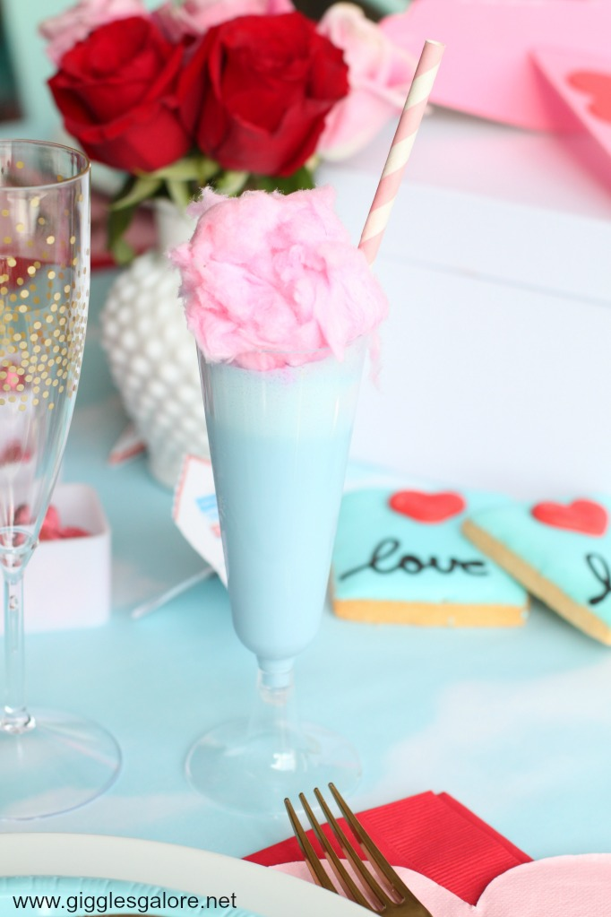 Cloud 9 cotton candy drink