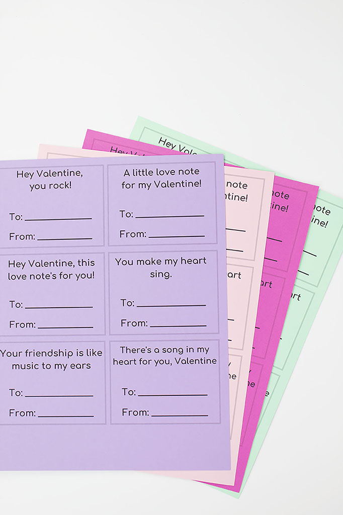 Free Printable Radio Valentine