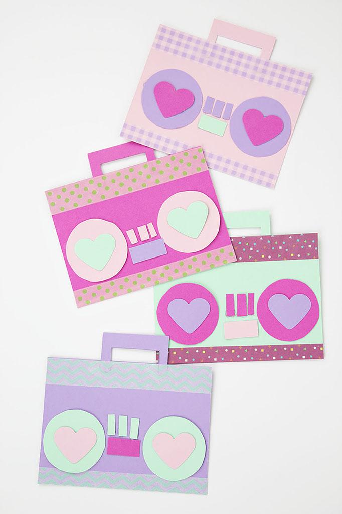 DIY Radio Valentines