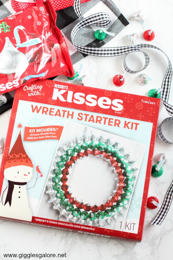 Floracraft Hershey Kiss Holiday Wreath Kit Giggles Galore