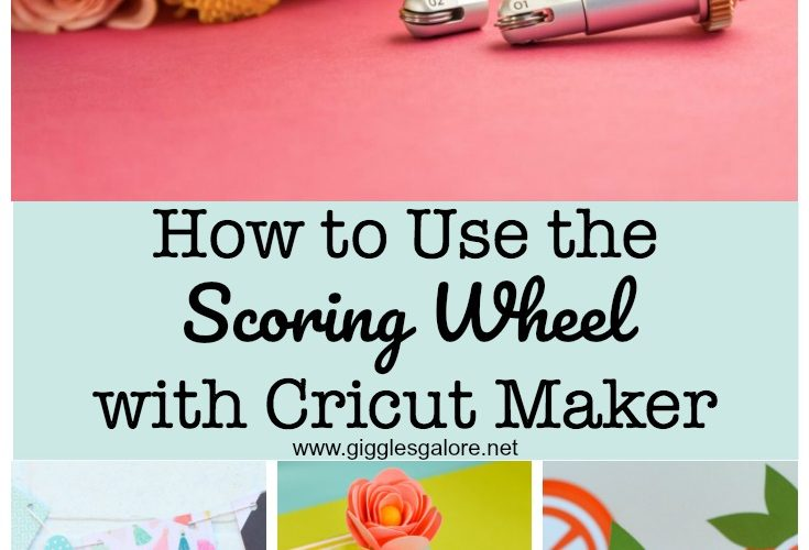 How to use the scoring wheel with cricut maker