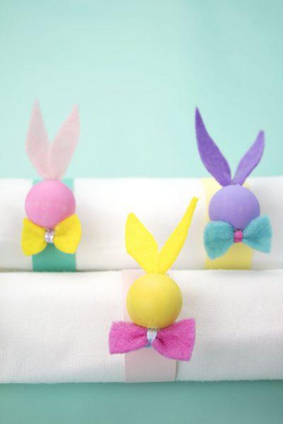 Bunny napkin rings 9