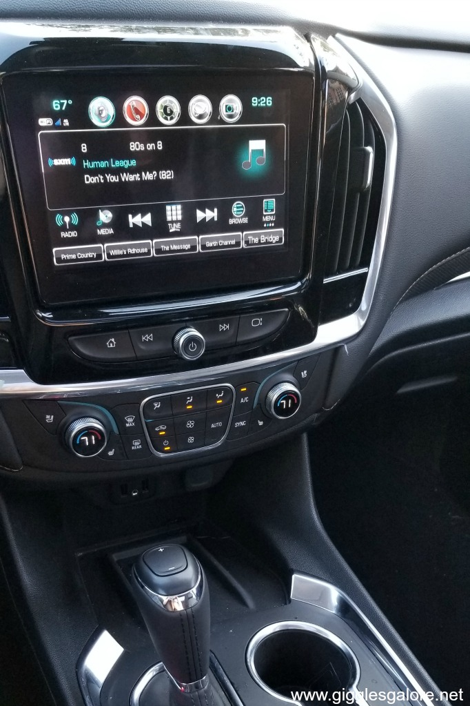 Chevy traverse radio