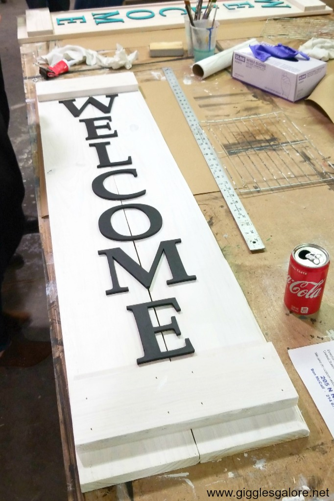 Diy studio decatur welcome sign