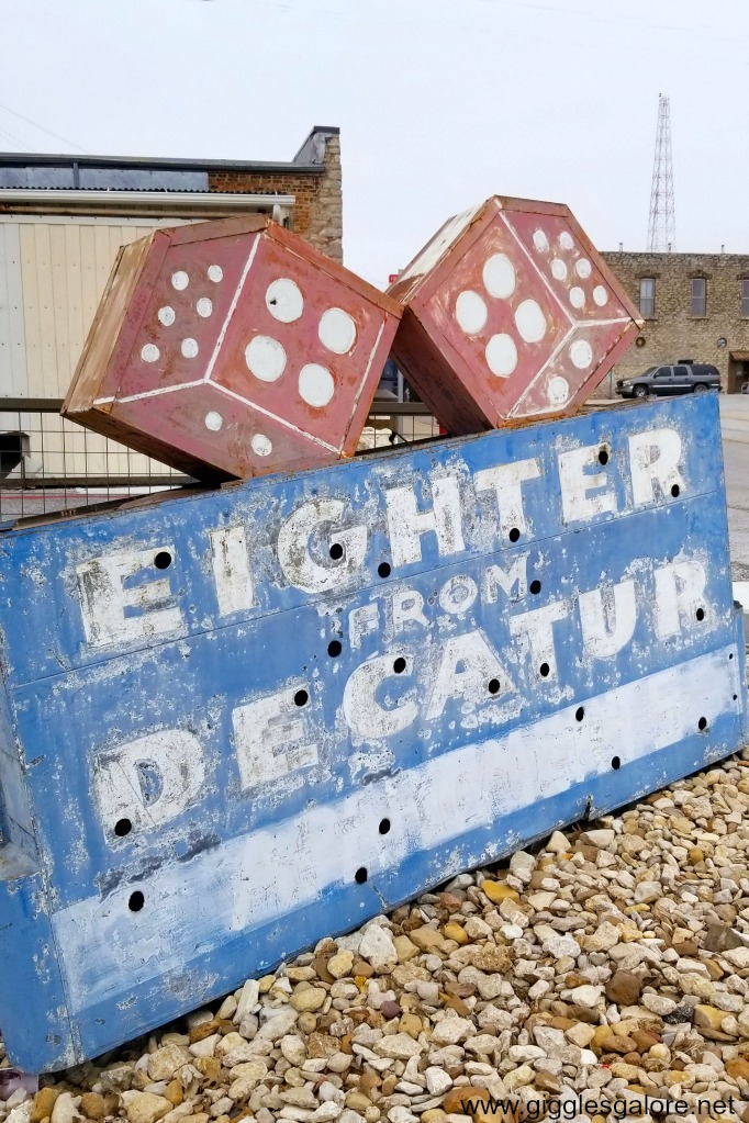 Eighter from decatur sign