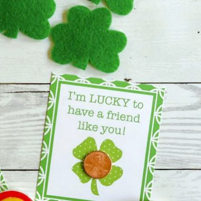 Lucky Penny St. Patrick's Day Printable Tags