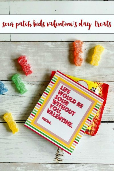 Sour patch kids valentines day treats free printable tags