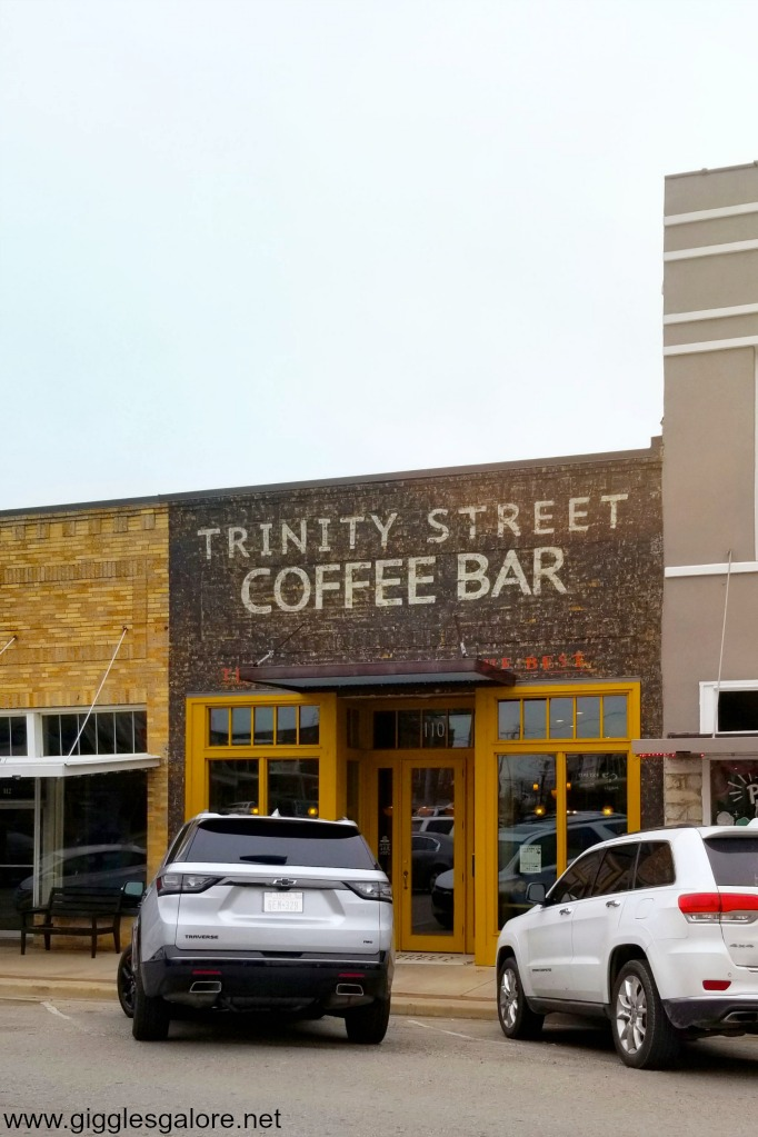 Trinity street coffee bar