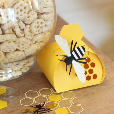 DIY Hexagon Bee Coasters with Cricut Maker