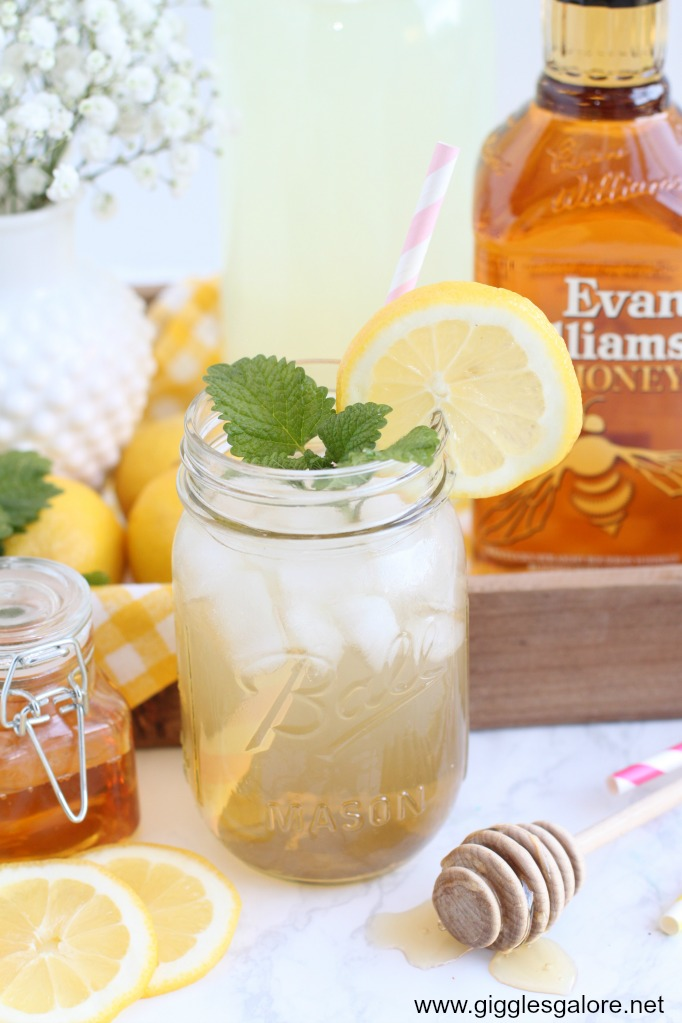 Evan williams honey ginger lemonade cocktail