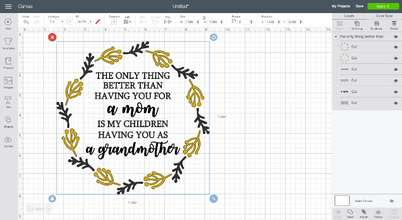 Farmhouse mothers day svg file