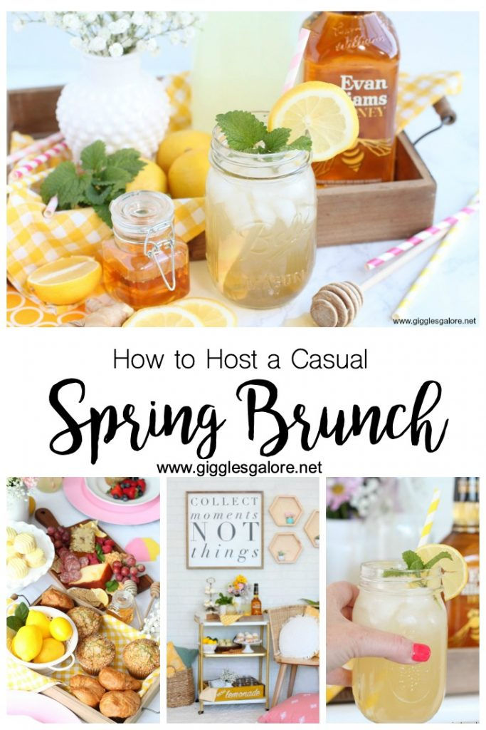 How to host a casual spring brunch