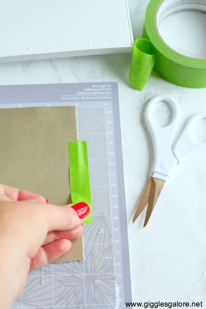 How to use the cricut knife blade stronggrip mat 1