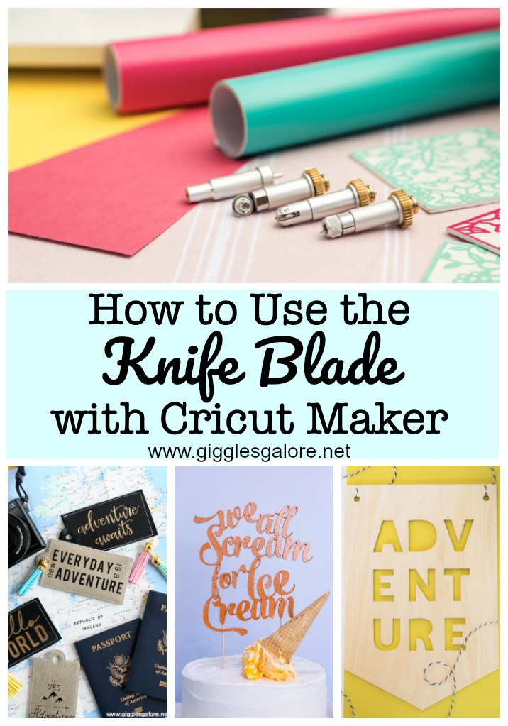 How to use the knife blade with cricut maker
