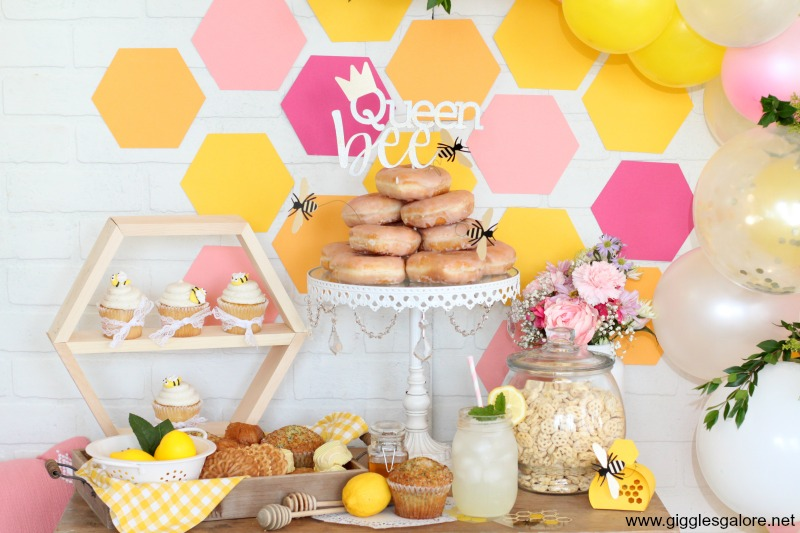 Queen bee birthday party ideas