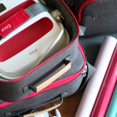 The Cricut EasyPress Tote is Perfect for Storage and On the Go