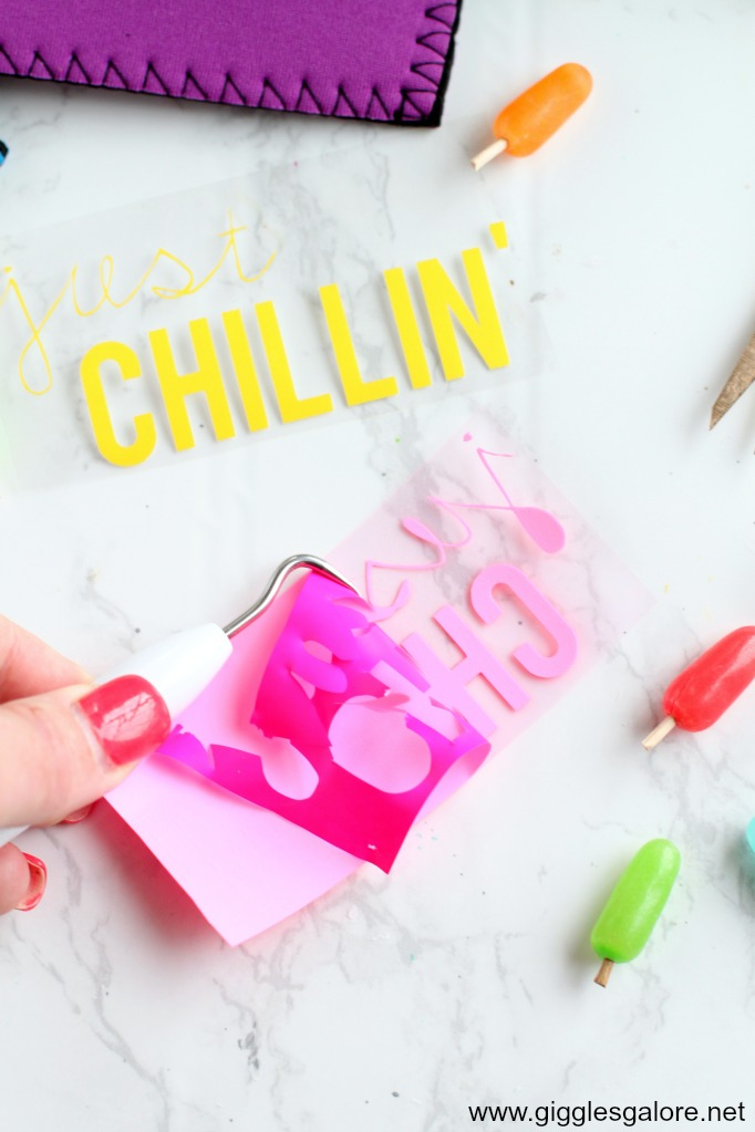 Diy popsicle holder cricut vinyl