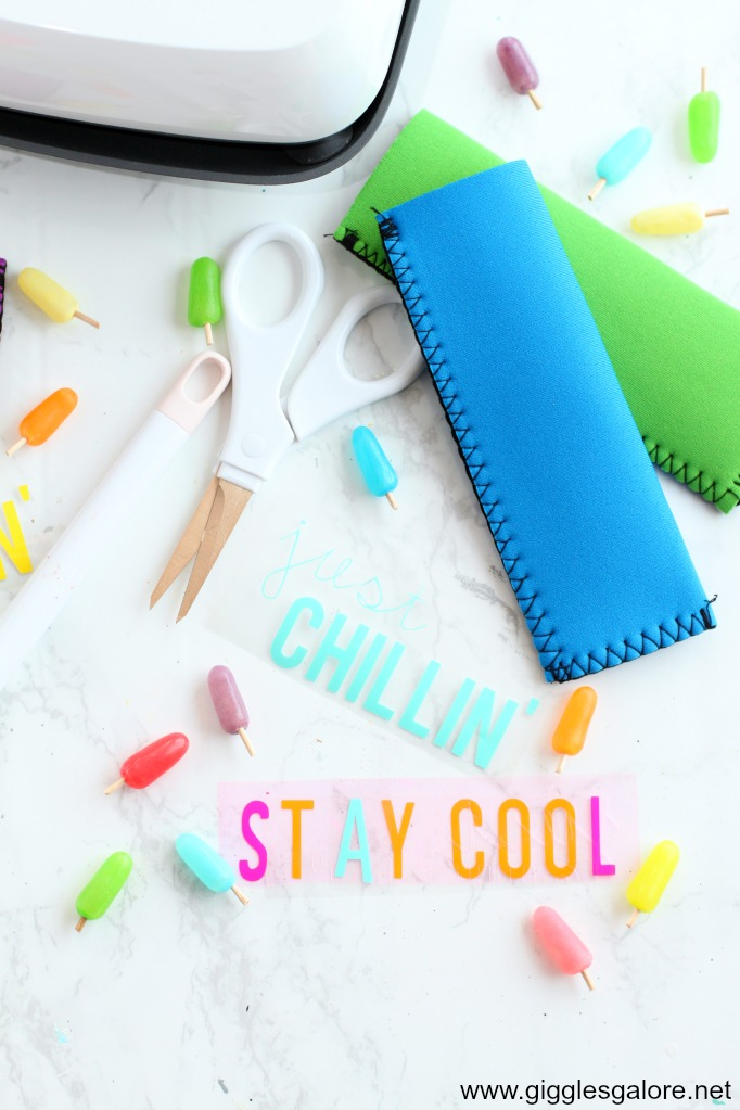 Diy popsicle holder vinyl sayings