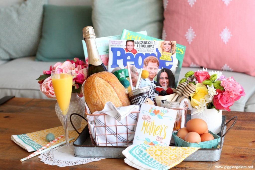 Farm fresh mothers day brunch basket