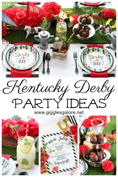 Kentucky derby party ideas giggles galore