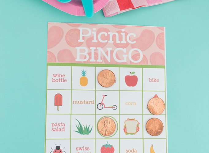 Printable Picnic Bingo Card Game