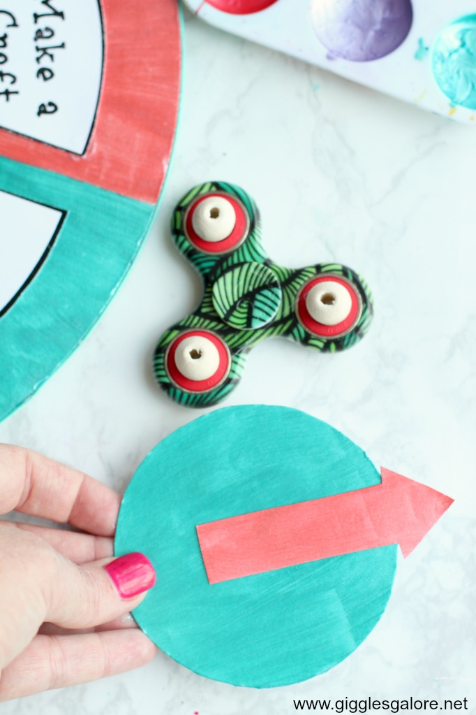 Diy summer boredom buster spinner step 6