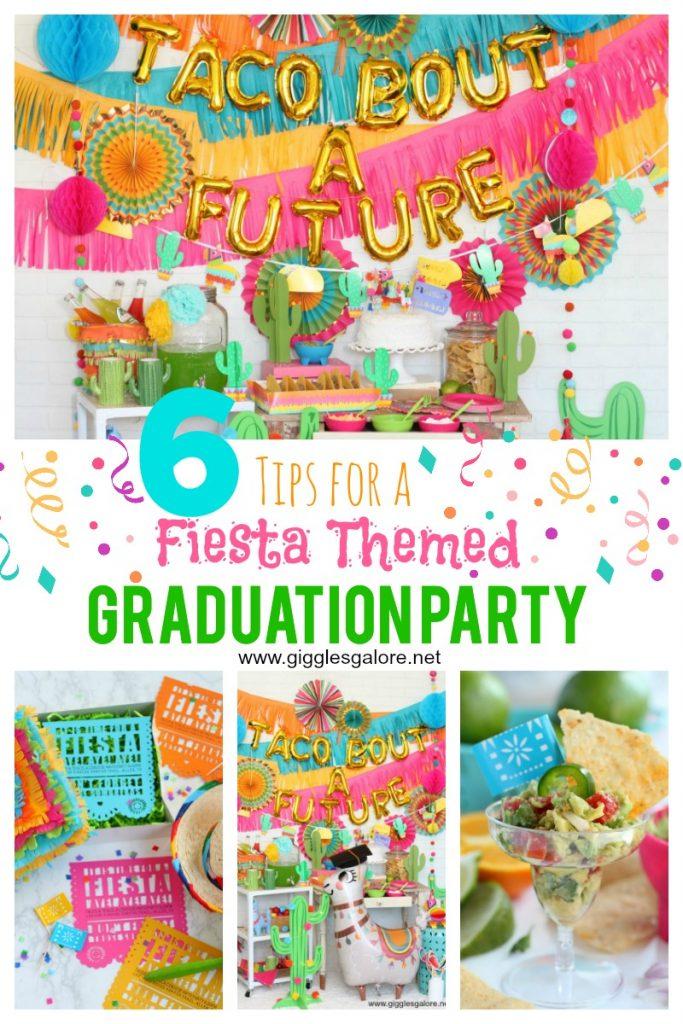 Fiesta themed graduation party ideas