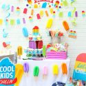 Hello summer popsicle party 1