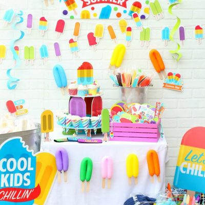 How to Host a Pop Into Summer Popsicle Party