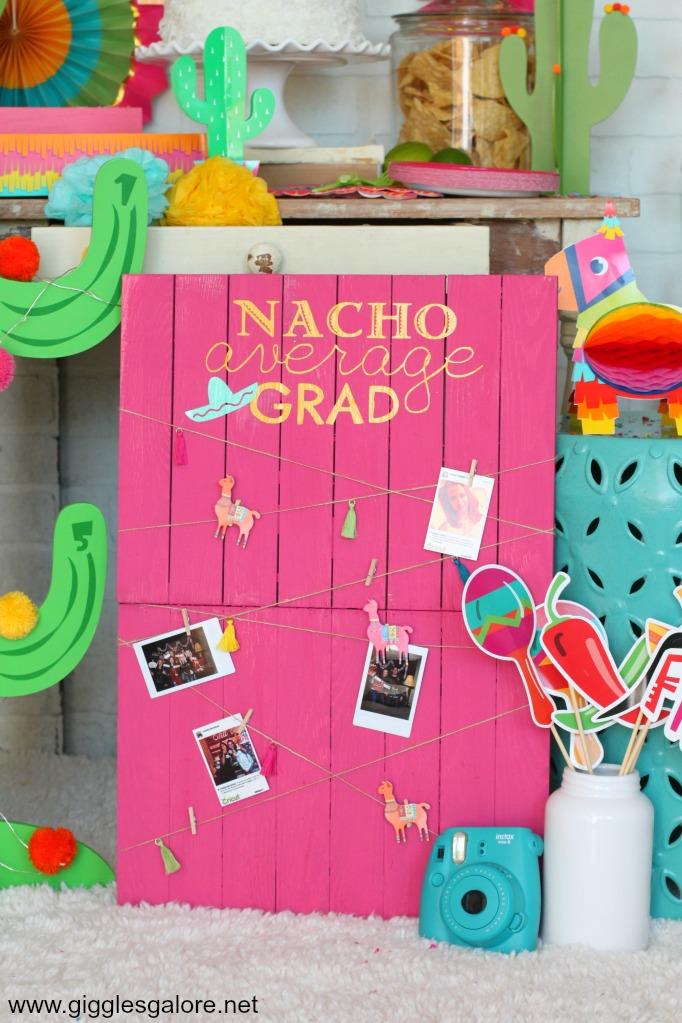 Nacho average grad photo board