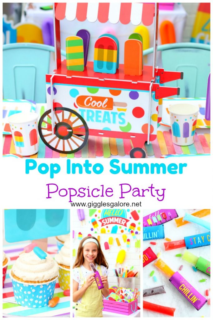 Pop into summer popsicle party giggles galore