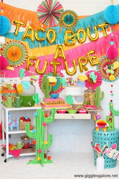 Taco bout a future graduation fiesta party
