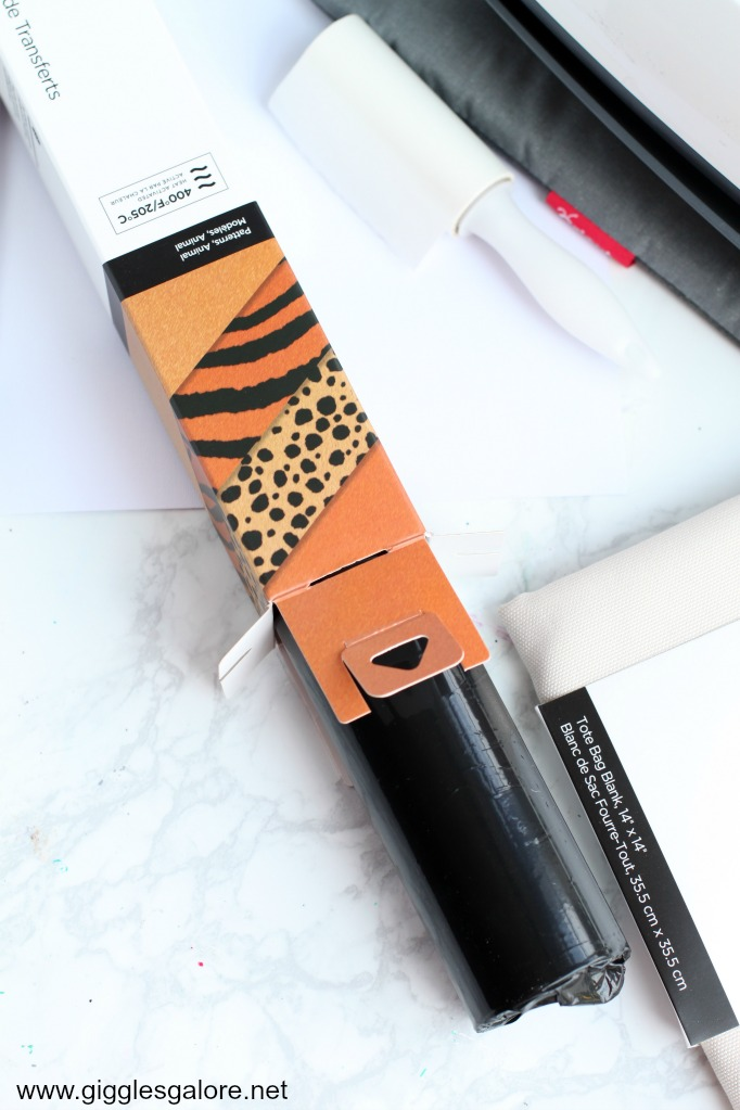 Animal print infusible ink