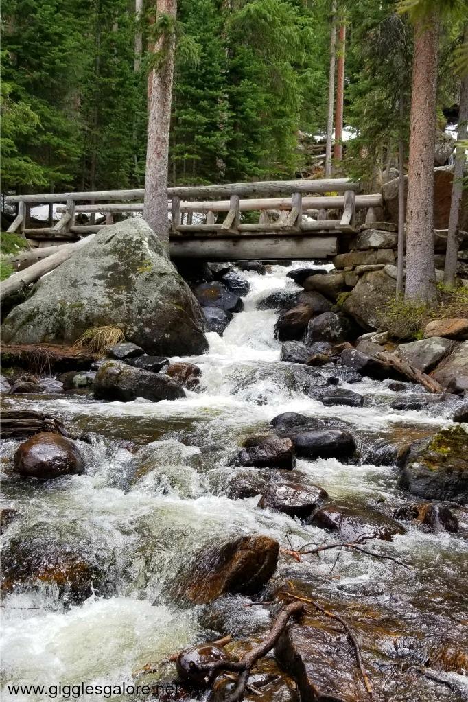 Calypso cascades wild basin trails